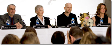 Quantum of Solace press conference
